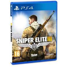 Sniper Elite 3 PS4 free posting Amazon - £24.99