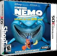 Finding Nemo Escape to the Big Blue (3DS) only £3.85 @ Shopto