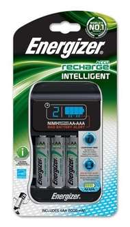 Energizer Intelligent AA/AAA Charger with Pack of 4 AA 2000 Rechargeable Batteries £12.66 @ Energizer UK Online Store