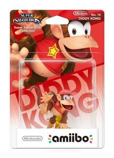 Diddy Kong Amiibo £9.00 @ Amazon (Free delivery with Prime/£10 spend)