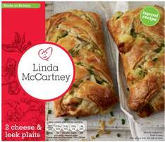 Linda McCartney Vegetarian Sausages (6) / Red Onion & Rosemary Sausages (6) Cheese & Leek Plaits (2) ONLY 99p each pack @ Lidl