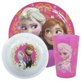 Disney Frozen Elsa and Anna melamine dinner set, 3 piece - £4.50 @ Tesco Direct