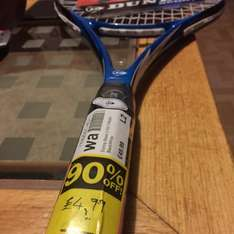 Dunlop Tennis racket.£49.99 down to £4.99 instore @ Sports Direct