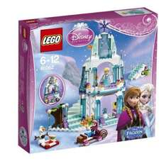 LEGO Disney Princess 41062: Elsa's Sparkling Ice Castle now available from Amazon, £34.99 with free delivery