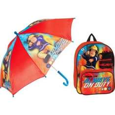Fireman Sam Backpack and Umbrella - 3+ Years, £5.99 R&C @ Argos
