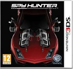 NINTENDO 3DS - SPY HUNTER - £3.99 FROM AMAZON, FREE DELIVERY WITH  PRIME