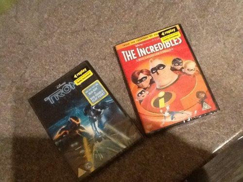 Preowned Disney DVD's £1 @ Poundland