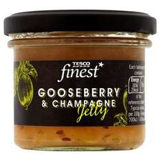 Finest Gooseberry and Champagne/Elderberry and Port Jelly 110g half price 75p @ Tesco