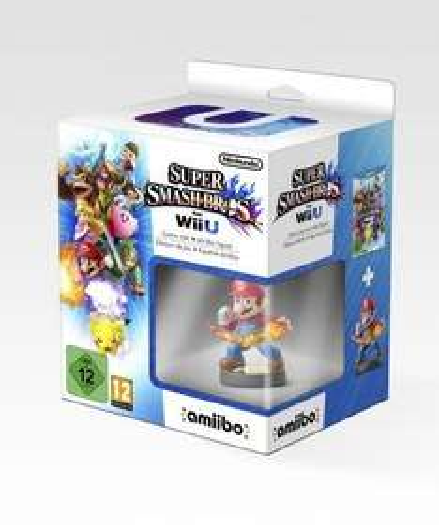 Super Smash Bros + amiibo Mario WII U £39.85 @ Shopto.net