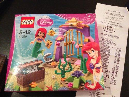 Lego Disney Princess Ariel's Amazing Treasures @ Asda £3!