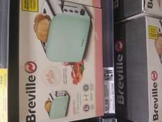 Breville pick & mix pistachio toaster at Tescos £12.50