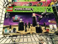 Lego Minecraft - The Ender Dragon set - 21117 £15.00 @ Tesco instore