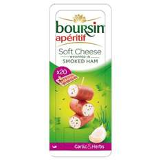 Boursin apéritif 20x Soft cheese wrapped in smoked ham 75p @ Tesco instore