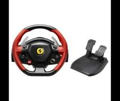Ferrari 458 Spider Replica Racing Wheel (Xbox One) only £49.00 (£40.00 with code!) Save £40.00! @ Tesco Direct.