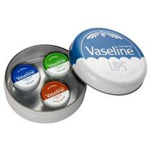 Vaseline Original Retro Lip Tin Gift Pack £2.75 @ Tesco Direct