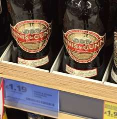 Innis and gunn ale  now at £1.19 in Tesco