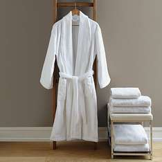 100% Cotton Bath Robe £15 in store (£25 on Website) @ ASDA