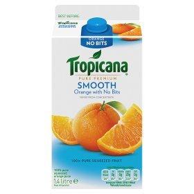 Tropicana Orange Juice Smooth 1.4 ltr WAS £3.46 NOW £1.87 @ Asda