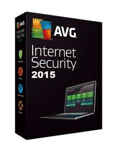 AVG Internet Security 2015 1 YEAR FREE LICENCE WORTH €44,99