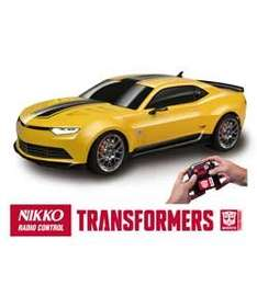 Nikko Transformers Bumblebee Radio Controlled Car/Transformer Decpticon Lockdown Remote Controlled Car Less than half price Were £34.99 Now £15.99 @ Argos