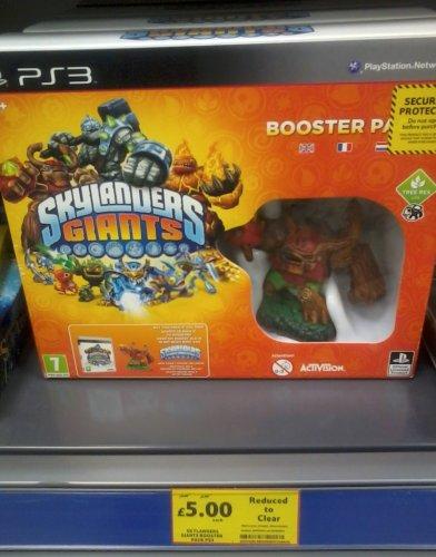 Skylanders giants booster pack ps3 £5 @ Tesco instore