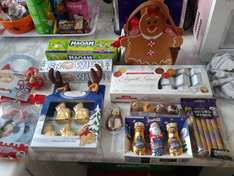 xmas chocolates/sweets all scanning at 1p in photo tesco instore