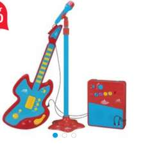 Carousel Guitar Set £5.00 @ Tesco instore