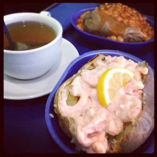 Spudulike GY BOGOF Buy one get one free on their prawn potatoes all weekend, eat in or takeaway