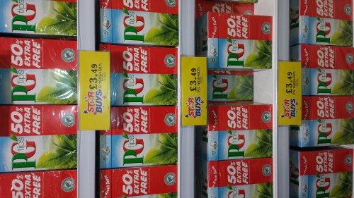 PG TIPS 240 TEA BAGS £3.49 @ Home Bargains