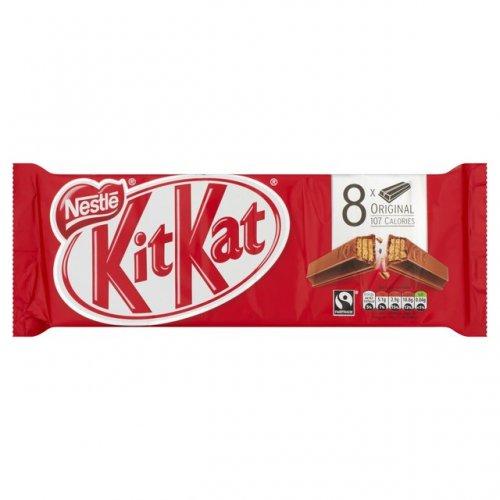 Kit Kat Milk Chocolate 2 Finger Multipack 8 x 20g £1.00 @ Morrisons