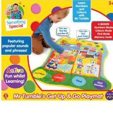 Something special Mr tumble get up and go playmat £5 @ Tesco