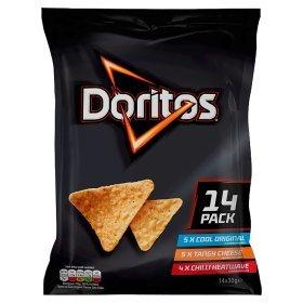 Doritos Variety Pack 14x30g £1.82 @ Asda Groceries online