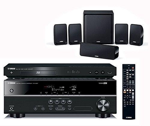 Yamaha BDPK1810 AV Receiver, Blu-ray Player and 5.1 Speaker Package £349.85 @ Superfi (Amazon price  £434.99)
