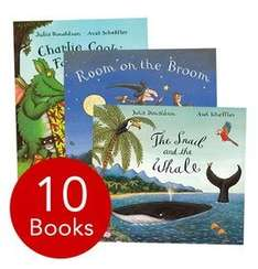 The book people Julia Donaldson 10 book collection - £11.99 plus £2.95 delivery