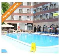 half board stay in hermes hotel a 3 star hotel with good reviews in Marmaris turkey for 2 adults and 1 child £37 @ travelrepublic