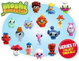 moshi monsters series 11 5 pack £0.50 @ Tesco