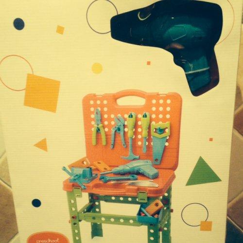 Tesco pretend play tool bench £5 @ tesco Batley instore