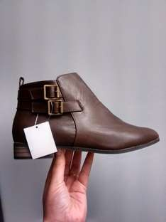 brown boots £7 @ dorothy perkins
