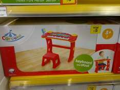 carosel piano and stand - Tesco in store £5