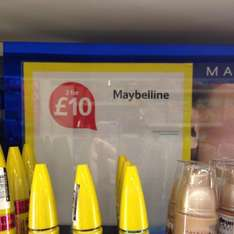 Selected Maybelline 2 for £10 at Tesco instore