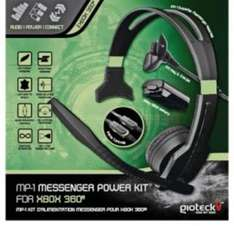 Gioteck Xbox 360 Starter Pack (Headset and Play and Charge Kit) Down to £5.00 at Tesco Direct