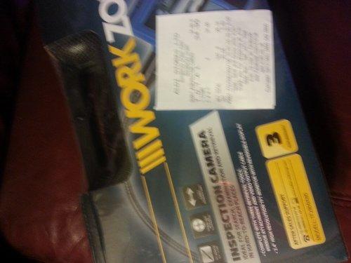 Aldi inspection camera scanning at £34.99