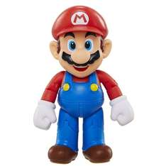 "Mario 4-inch ""World of Nintendo"" articulated figure with mushroom £6.41 @ Amazon (free delivery £10 spend/prime)"