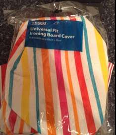 Ironing Board Cover. One Size Fits All £1 @ Tesco