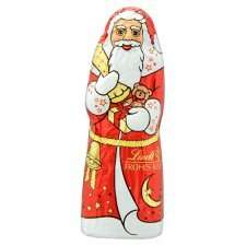chocolate santa  LINDT scan 1p tesco extra