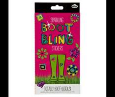 Boot bling stickers £0.88 @ tesco direct