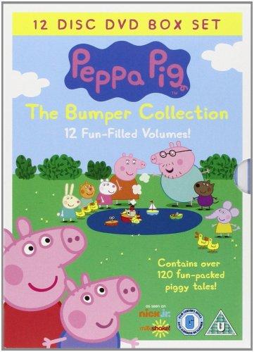 Peppa Pig boxset 12DVD's £14.00 @ Amazon
