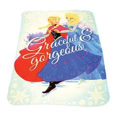 Disney Frozen Fleece Blanket - Assorted £4.99 @ The Works. Free Delivery using code FREEDELIVERY