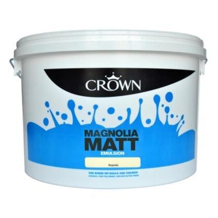 Crown Matt Emulsion  10lt £14 each or 2 for £25 @ B&Q
