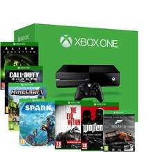 Xbox One Console + Call of Duty Ghosts + Evil Within + Alien Isolation + Wolfenstein + Minecraft + Project Spark + Forza 5 GOTY £384.85 @ Shopto